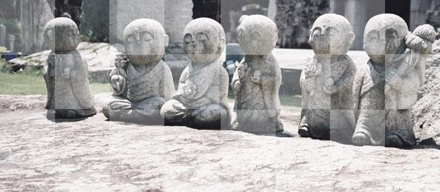 石おぼこ・観音像・地蔵尊など